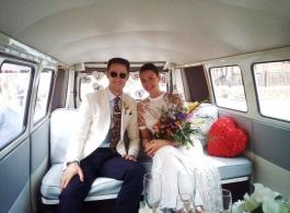 Splitscreen VW for weddings in Bexhill
